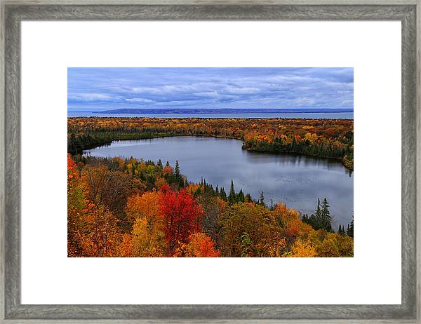 Autumn Spectacle  Framed Print