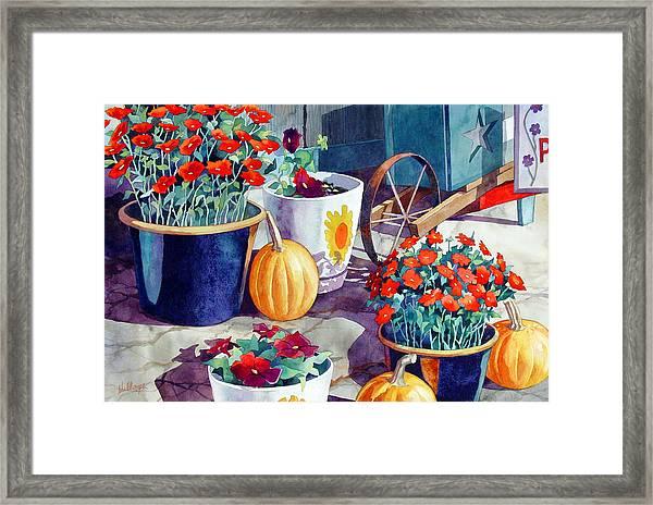Autumn Still Life Framed Print