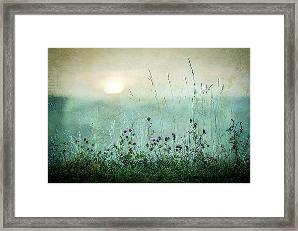 Autumn Sunrise Framed Print