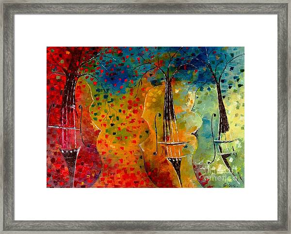Autumn Symphony Framed Print by Amalia Suruceanu