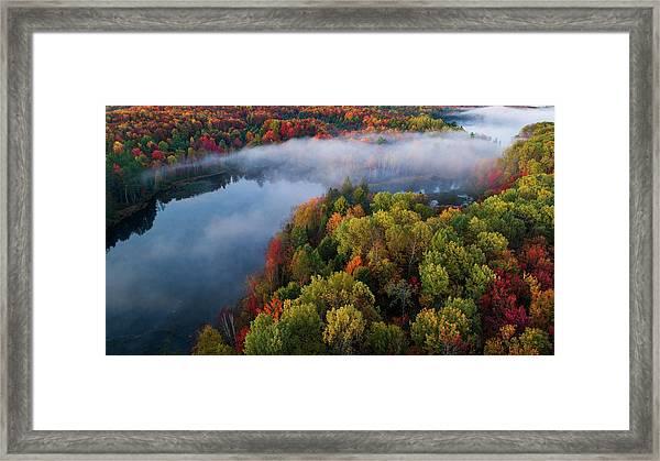 Autumn Symphony II Framed Print by John Fan