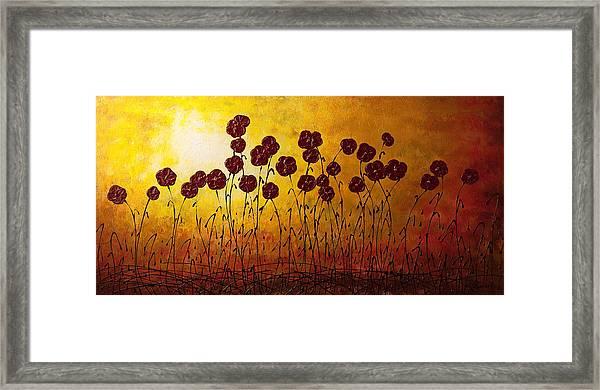 Autumn Valley Framed Print