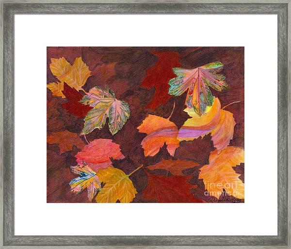 Autumn Wonder Framed Print by Denise Hoag