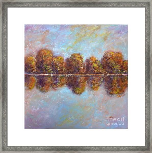 Autumnal Atmosphere Framed Print