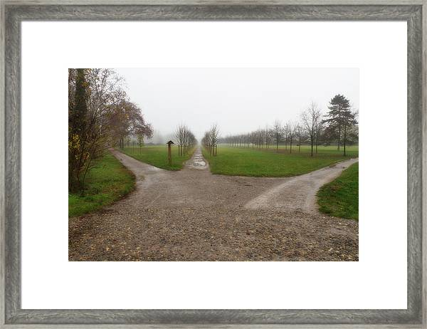 Autumnal Countryscape Framed Print