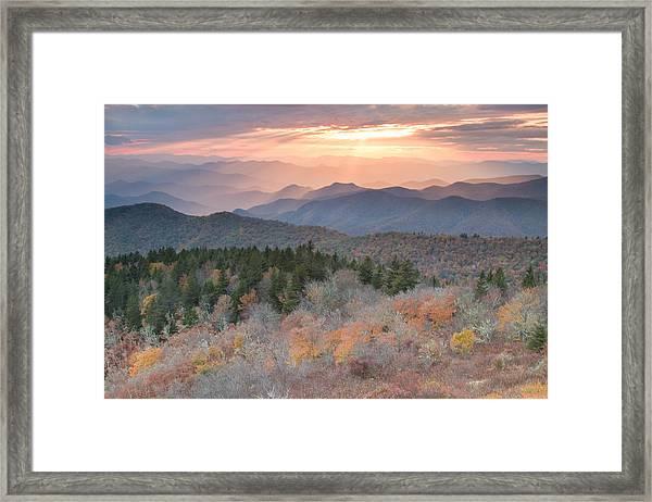 Autumn's Resplendence Framed Print