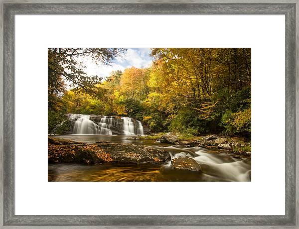 Autumn's Magic Framed Print