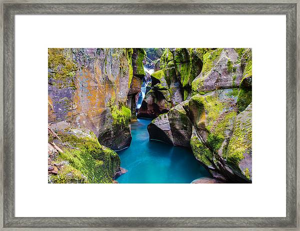 Avalanche Gorge 1 Of 4 Framed Print