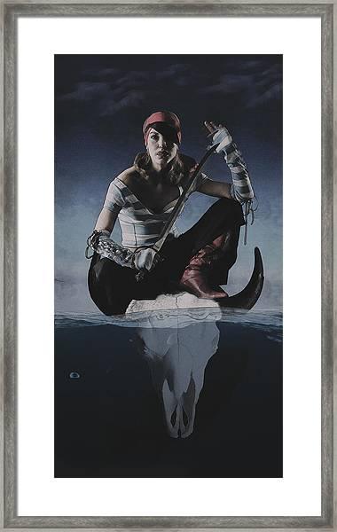 Avast Ye Pirate Framed Print