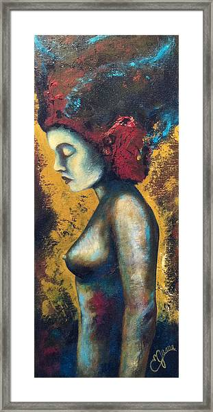 Avatar Framed Print by Estela Gama