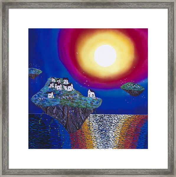 Avatar Island Housing Framed Print by Patrick OLeary