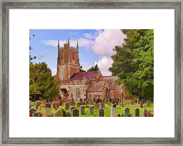 Avebury Church -1 Framed Print