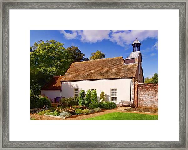 Avebury Garden -1 Framed Print