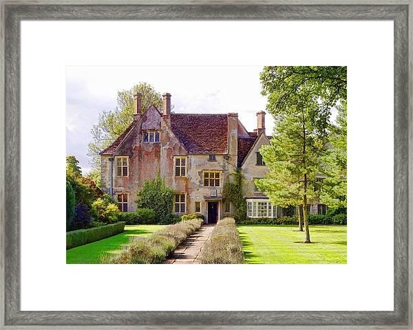 Avebury Manor -1 Framed Print