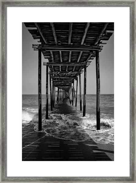 Avon Fishing Pier Framed Print
