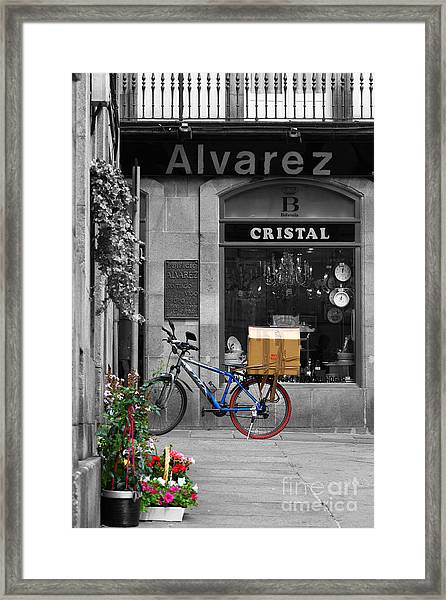 Awaiting Delivery Framed Print