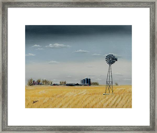 Awaiting Spring Framed Print