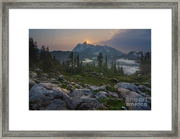 Awaken Framed Print by Gene Garnace