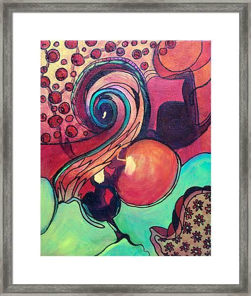 Awakened Spiral Framed Print
