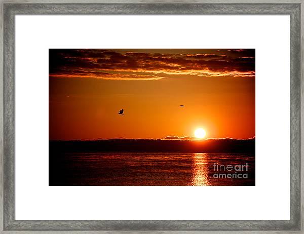 Awakening Sun Framed Print