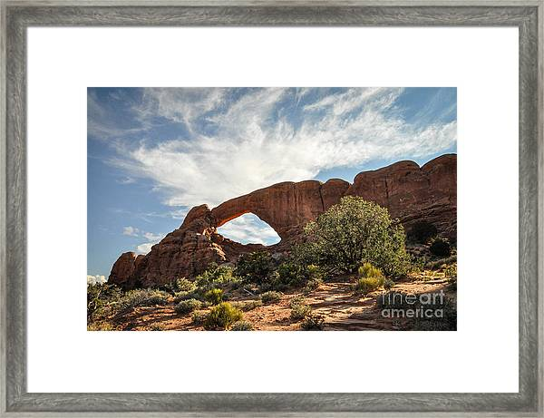 Awesome Arch Framed Print