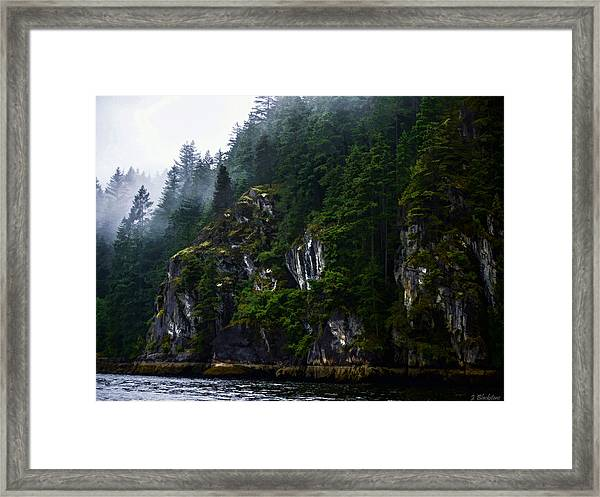Awesomeness Of Nature Framed Print