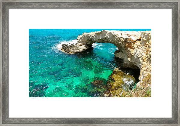 Ayia Napa In Cyprus Framed Print