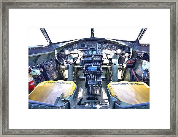 B-17 Front Office Framed Print