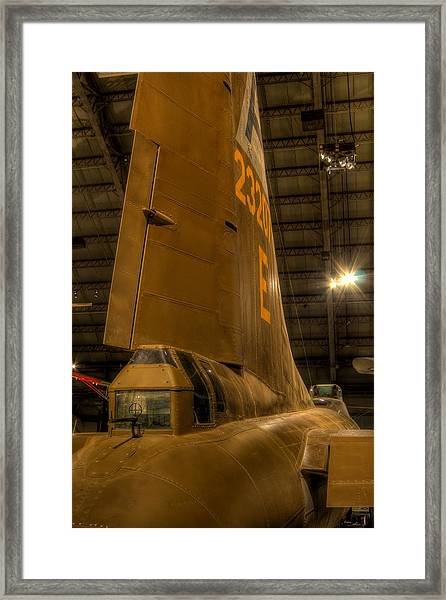 B-17 Tail Gunner Framed Print