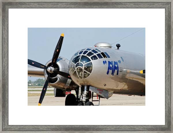 B-29 Bomber Fifi Framed Print