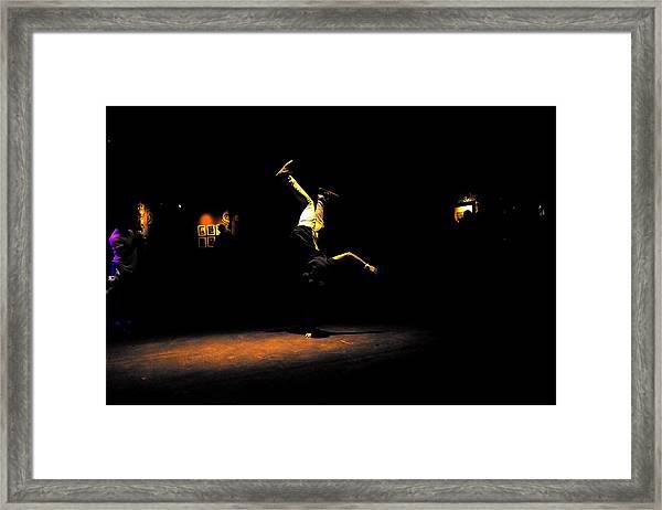 B Boy 4 Framed Print