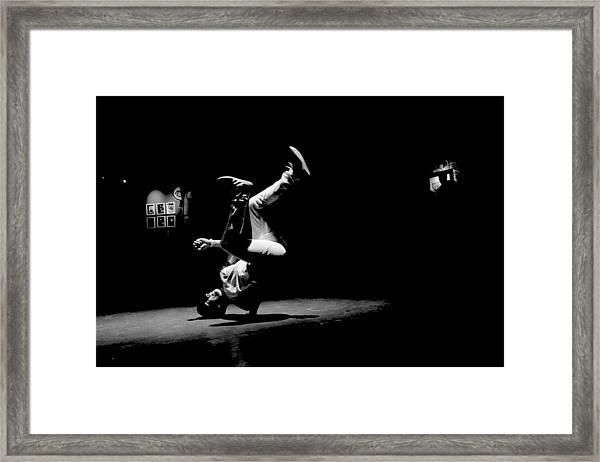 B Boy 5 Framed Print
