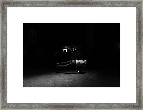 B Boy 6 Framed Print