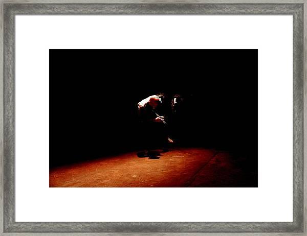 B Boy 8 Framed Print