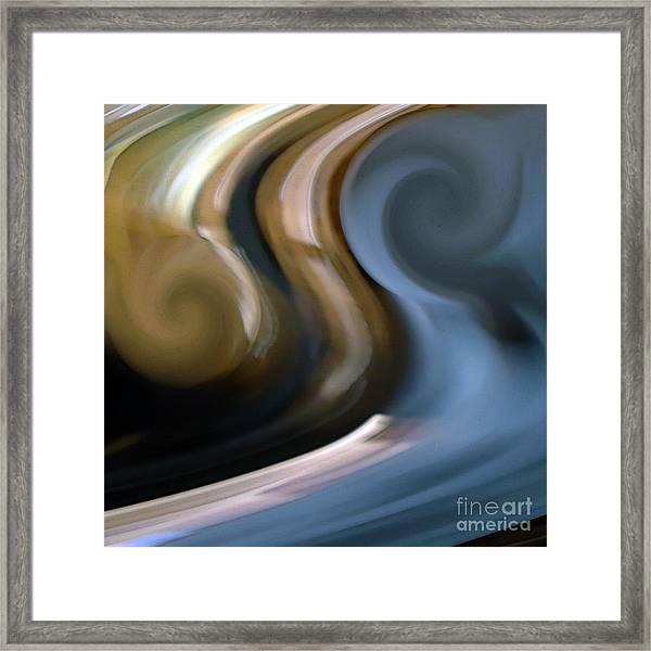 B Energy Framed Print