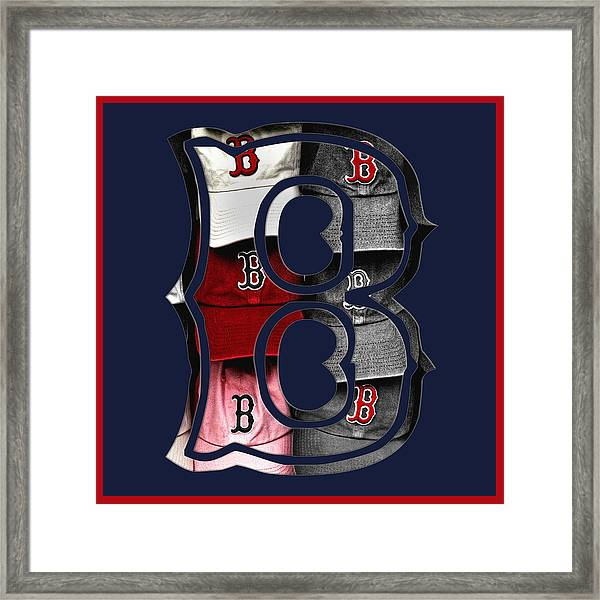 B For Bosox - Boston Red Sox by Joann Vitali