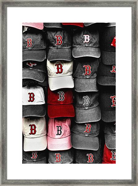 B For Bosox Framed Print