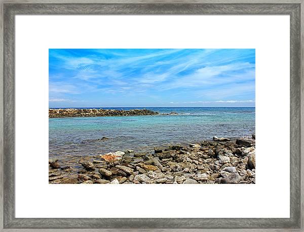 Baby Beach Framed Print