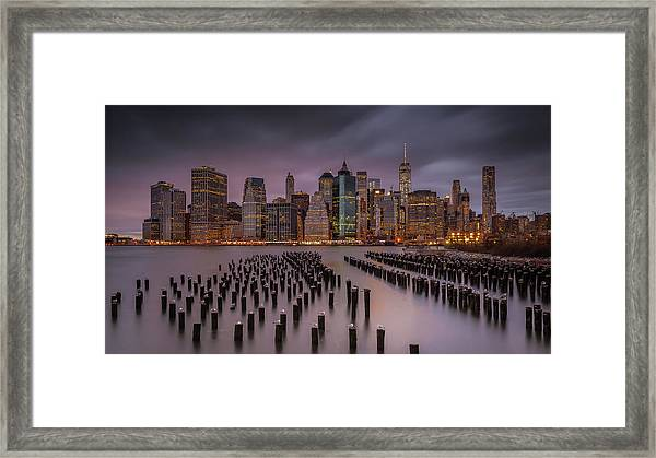 Back Home Framed Print by Andreas Agazzi