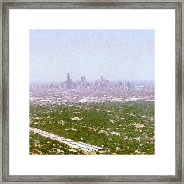 Back In My City Framed Print