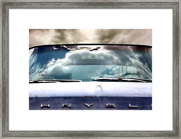 Back Lot Reminisce  Framed Print