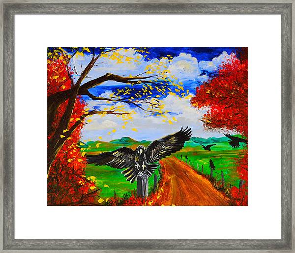 Back Roads Hangout Framed Print