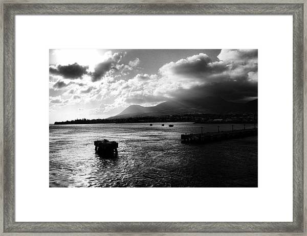 Back To Sea Framed Print