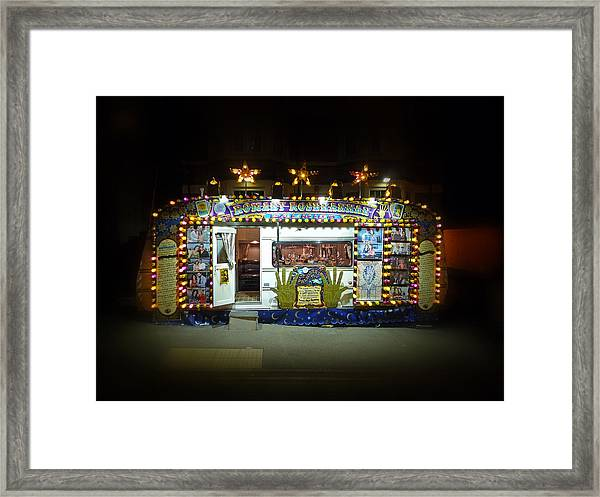 Back To The Fortune Framed Print