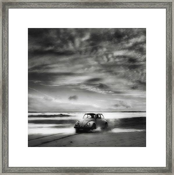 Back To The Future ... Framed Print