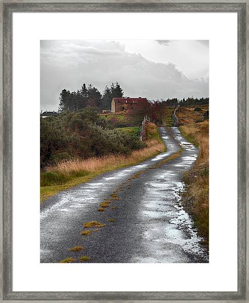 Backroads Of Ireland Framed Print