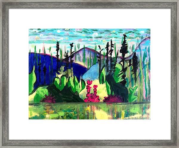 Backwoods 2 Framed Print
