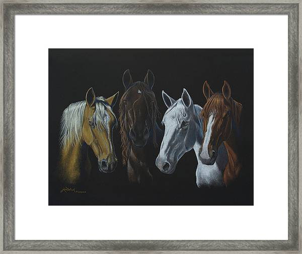 Bad Boys Of Horsefeathers Farm Framed Print