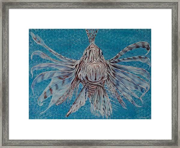 Bad Fish Framed Print