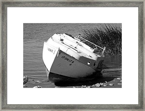 Bad Sail Day Framed Print